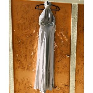 NWT NIGHTWAY/ formal halter gown